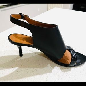 Givenchy Shoes - GIVENCHY BLACK STRAP PUMPS 39.5 EUC ITALY WOMENS